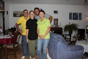 Ed, Teresa, Jesper och Jolanta.